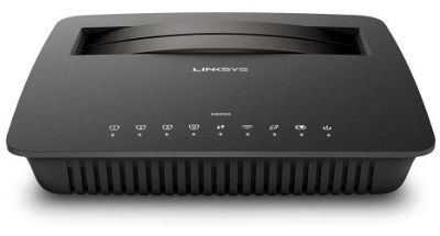Linksys X6200-UK AC750 Wi-Fi VDSL Modem Router