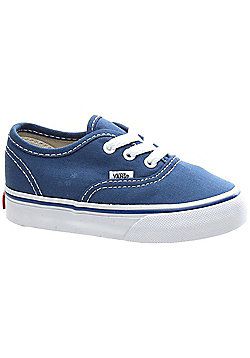 Vans Authentic Navy Toddler Shoe ED9NVY - Blue