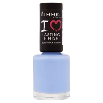 Rimmel London Lasting Finish Nail Polish 501 Fancy A Dip