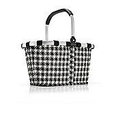 Reisenthel Foldable Carry Shopping Bag in Fifties Black BK7028