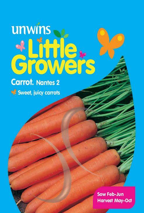 Little Growers Carrot Nantes