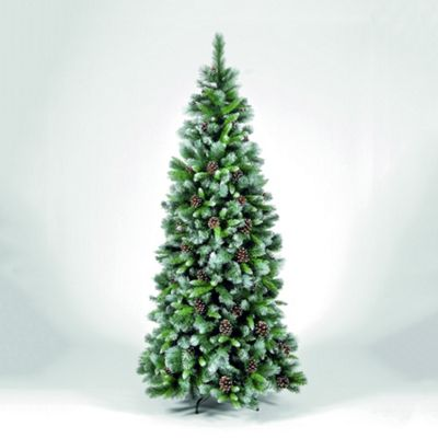 Snowtime Frosted Glacier Hook - On Chirstmas Tree - 225 cm H