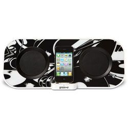 Groov-e GVSP8672 i-SpeakerDock-50 Designer Speaker System for iPod/iPhone