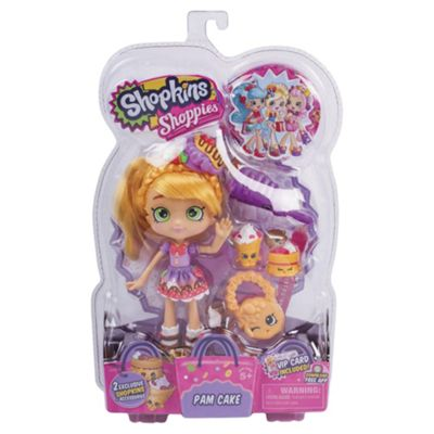 Shopkins Series 2 Shoppies Doll Pam Cake