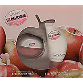 DKNY Be Delicious Fresh Blossom Gift Set 50ml EDP + 100ml Body Lotion For Women