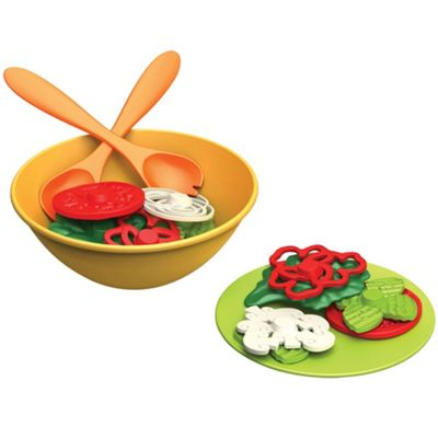 Green Toys Salad Set -Pretend Play Food Toys