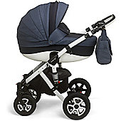 Mee-Go Milano Sport Chassis Travel System (Heritage Blue)