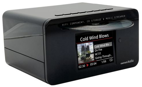 COCKTAIL AUDIO X10 MEDIA PLAYER AND SERVER (500GB HARD DRIVE, BLACK)