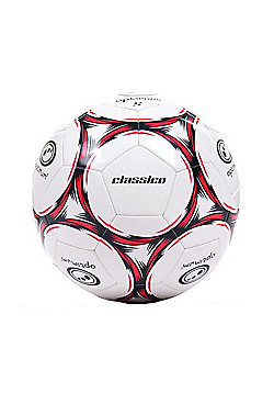 Optimum Classico Football - Black/Red - White