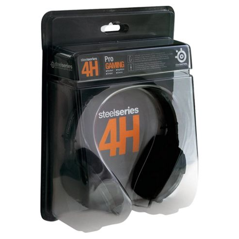 SteelSeries 4H Audio Lightweight Headset Black