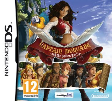 Captain Morgane and the Golden Turtle - NintendoDS