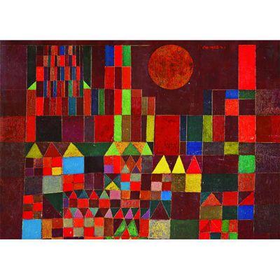 Paul Klee - Castle and Sun - 1000pc Puzzle