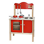 Viga Wooden Red Noble Kitchen