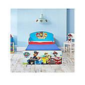 Paw Patrol Toddler Bed With Fully Sprung Mattress