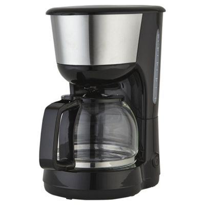 Tesco Coffee Maker - Black
