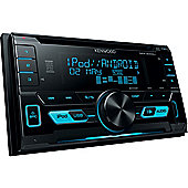 Kenwood Car Stereo-CD-Receiver│2DIN Radio│CD│MP3│WMA│WAV│FLAC│iPod-iPhone-Android│DPX 3000U