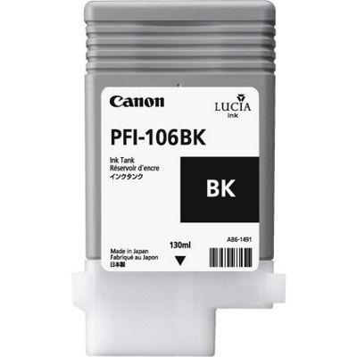 Canon Lucia EX PFI-106BK Ink Cartridge 6621B001AA