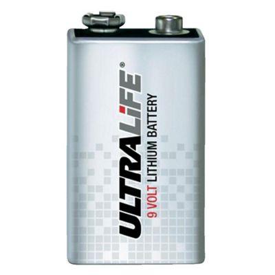 Ultralife 9V FP Lithium 1200MAH Battery