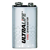 Ultralife 9V FP Lithium 1200MAH Battery