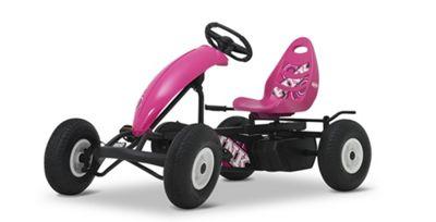Kids Pedal Go Kart - Pink - Berg Compact Sport BFR