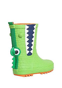 F&F Snapping Crocodile Wellies - Green