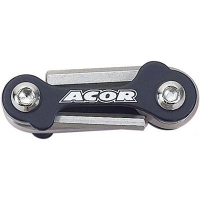 Acor Mini Allen Key / Screwdriver Set, Black