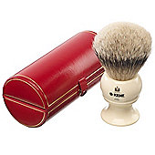 Kent King Sized Silvertip Shaving Brush - BK12 Ivory
