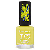 Rimmel London I Love Lasting Finish Nail Polish 406 Cute As A Kitten Heel