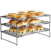 VonShef 3 Tier Stackable Cooling Rack