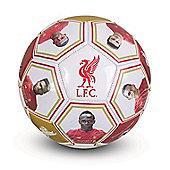 Liverpool FC Size 5 Photo & Signature Football