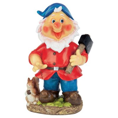 Tesco Wobble head red gnome