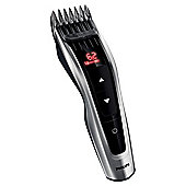 Philips HC7460 Series 7000 Mens Digital Cordless Hair Clippers - Silver / Black