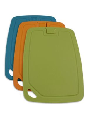 Wellos Set of 3 Eco Friendly Antibacterial Chopping Boards, 30cm x 20cm