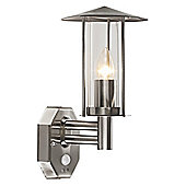 Modern Stainless Steel Outdoor Security Wall Light