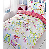 Owl and Friends, Kids Bedding - Single