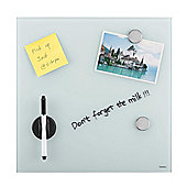 VonHaus Glass Magnetic Memo Board