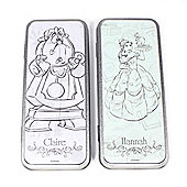 Beauty and the Beast Personalised Pencil Tin