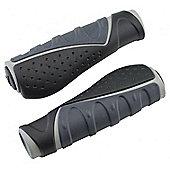 Acor Ergonomic Kraton/Gel Grips. 130mm, Black/Grey
