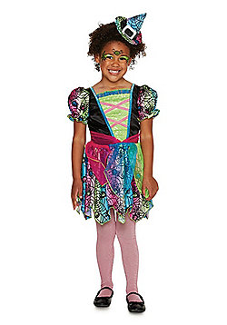 F&F Witch Halloween Costume - Black