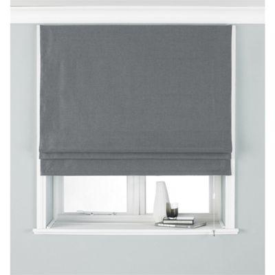 Riva Home Atlantic Grey Roman Blind - 153x137cm