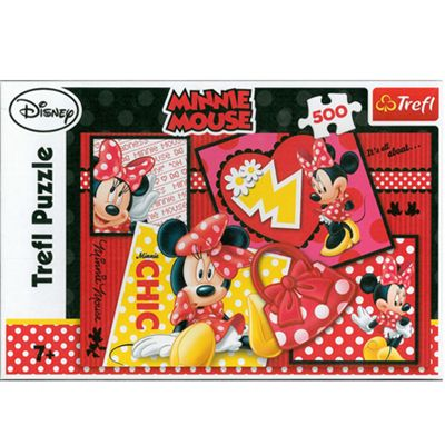 Minnie Mouse 500 Piece Jigsaw Puzzle