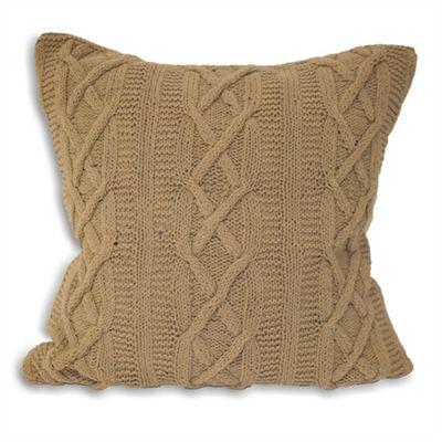 Riva Home Aran Mushroom Cushion Cover - 55x55cm