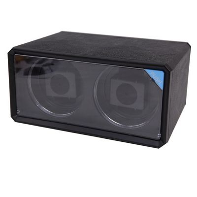 Time Tutelary KA076/BLACK PU Leather Automatic Watch Winder - Black