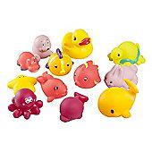 BabyMoov Bath Friends Bath Toys - Pink