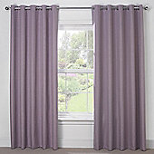 Julian Charles Luna Mauve Blackout Eyelet Curtains - 44x54 Inches (112x137cm)