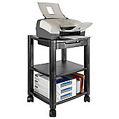 Navitech 3 Tier Shelving Printer Stand For The Canon MG3650 Printer Black