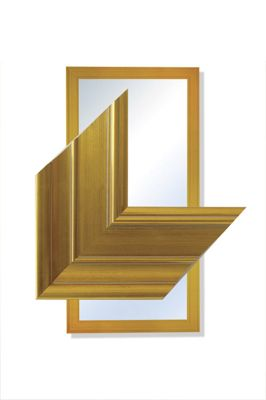 Extra Large Gold Contemporary Modern Big Wall Mirror