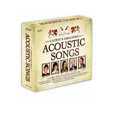 Latest & Greatest Acoustic Songs (3CD)