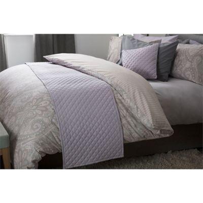Belledorm Seville 50x220cm Bed Runner - Heather