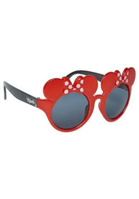Disney Minnie Mouse Sunglasses Red One Size